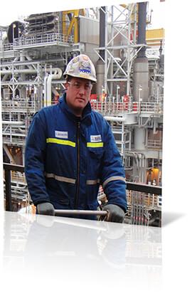 reliance offshore crew member